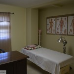 Auricular medicine center Acupuncture patient massage room view in Hoover Alabama