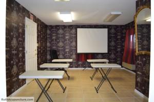 Auricular Medicine center office small teaching room