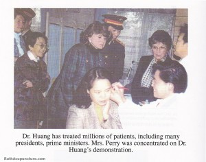 Dr Li Chun Huang has treated president and prime ministers around the world