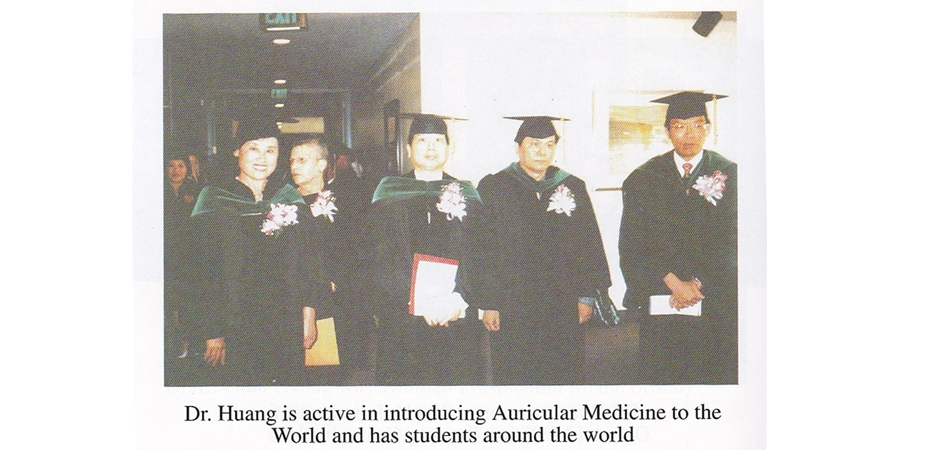 Auricular Medicine students around the world received Dr Huang medical training