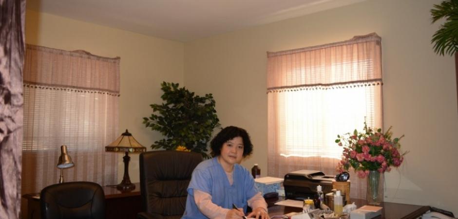 Auricular medicine center Dr Lu Yao office in Hoover Alabama