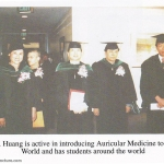 Students around the world received Dr Huang Auricular Medicine master training in the Acupuncture seminar
