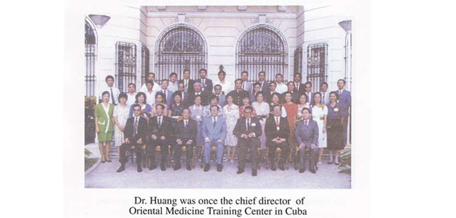Dr Li Chun Huang was the chief director of Auricular Medcine center in Cuba