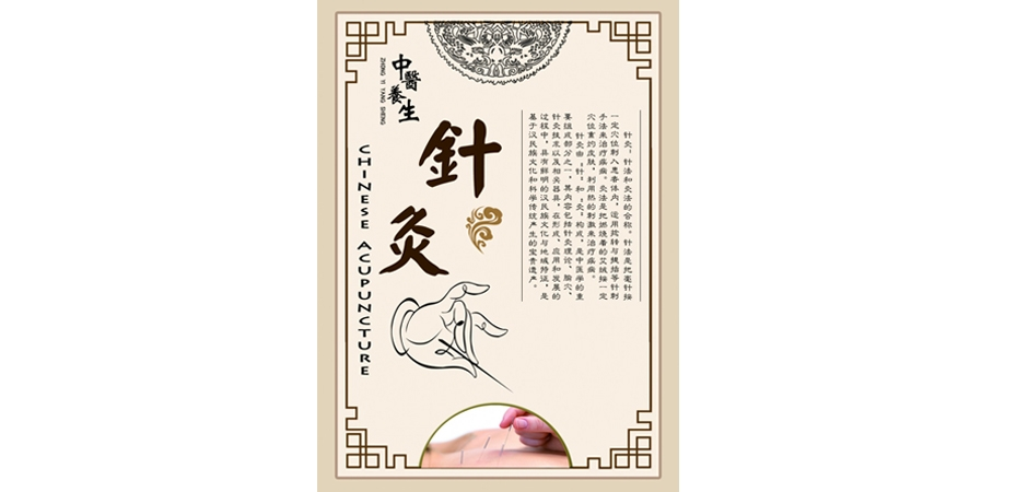 Chinese traditional acupuncture moxibustion therapy